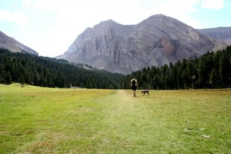 En el Ibón de Plan o Basa de la Mora, Pirineo Aragonés