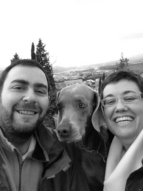 Nuestra primera selfie! :)